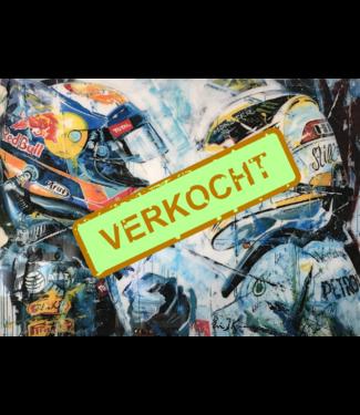 Plexiglas kunstwerk Max Verstappen | Eric Jan Kremer