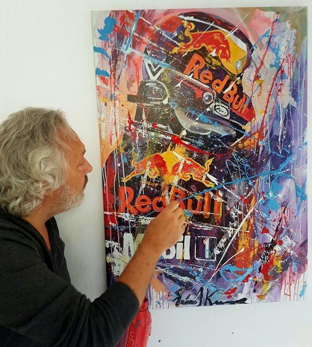 Max the winner 2018 70 x 100 cm Canvas print + Acryl