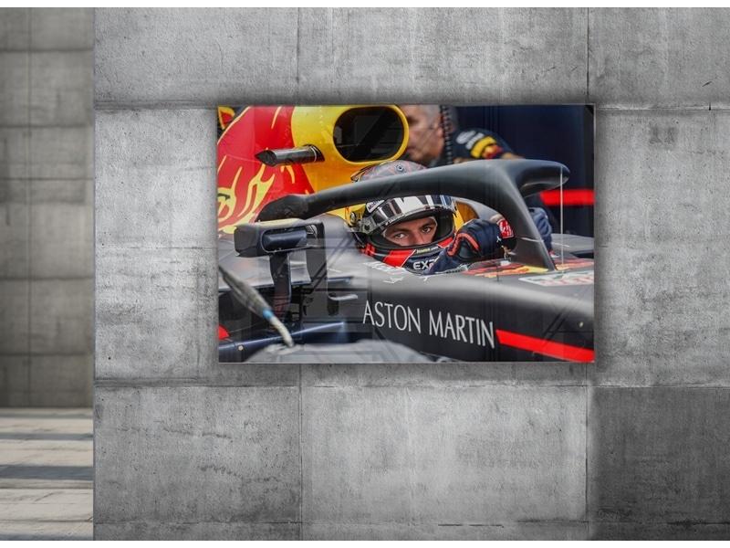 Max Verstappen Print op plexiglas