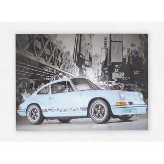 Porsche 911 Carrera Print op plexiglas