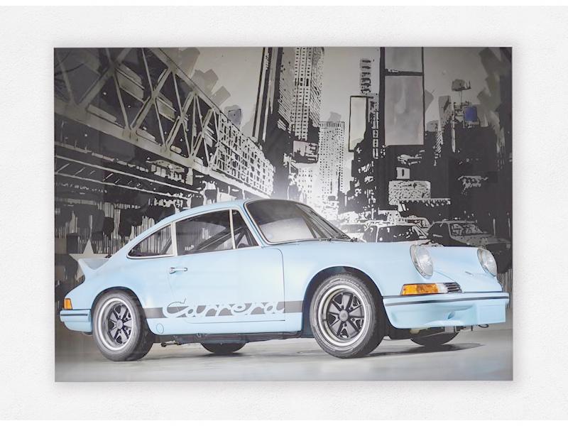 Porsche 911 Carrera RS 2.7 Print op plexiglas