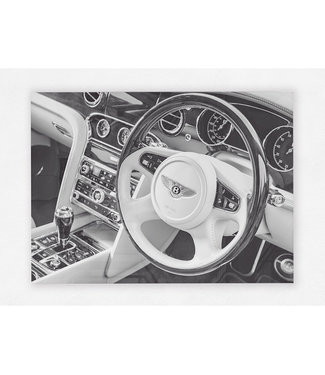 Bentley Style op plexiglas