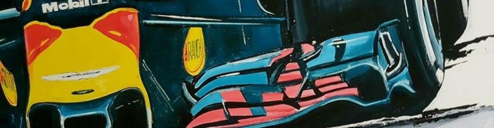 Max Verstappen kunstwerken voor elk budget bij Racing Art
