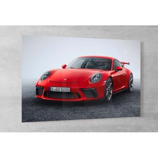 Porsche 911 GT3 - 2018 op plexiglas