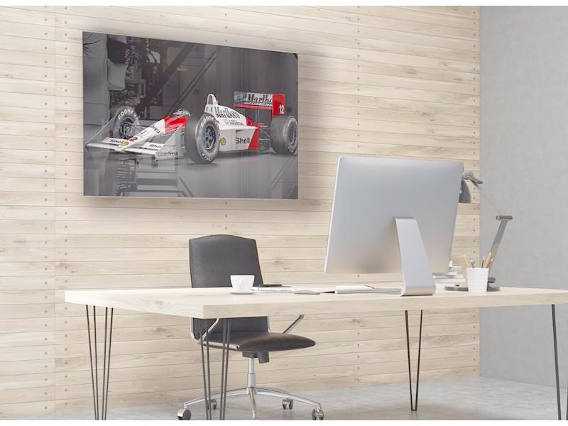 McLaren MP4 - Ayrton Senna op plexiglas