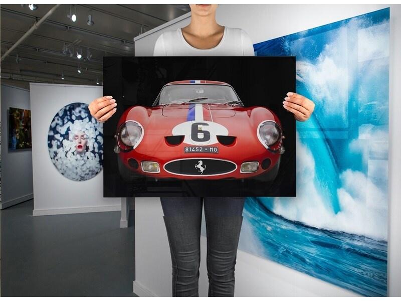 Ferrari 250 GTO 1962 op plexiglas