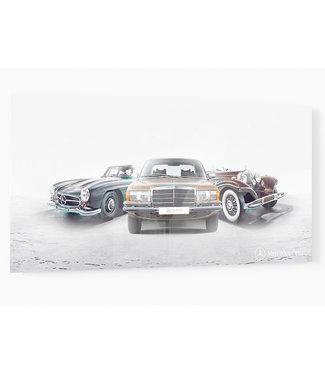 Mercedes Celebration Models print op plexiglas
