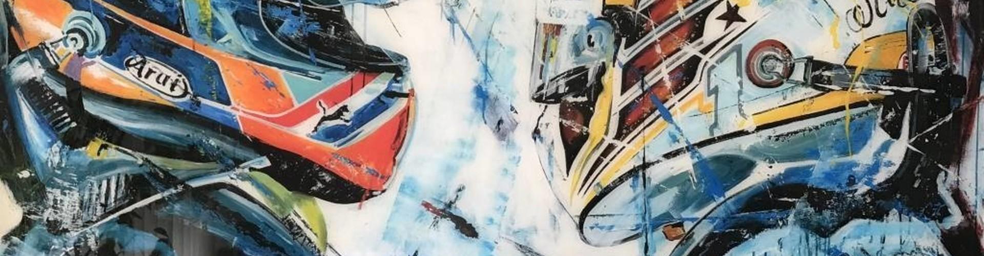 Een Eric Jan Kremer schilderij vult elke ruimte met positieve energie