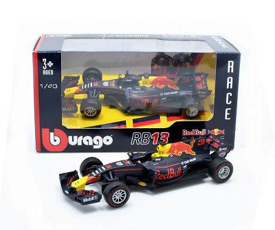 Bburago Max Verstappen Red Bull 1:43 RB13 2017