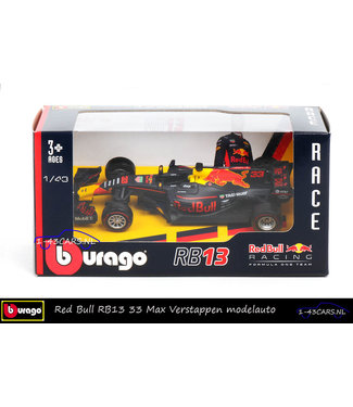Bburago Verstappen Red Bull RB13 1:43