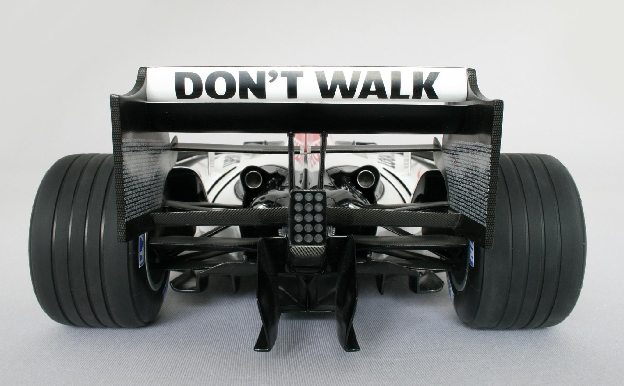 Amalgam Honda F1 RA106 (2006) 1:8 Winnaar GP Hongarije - Button