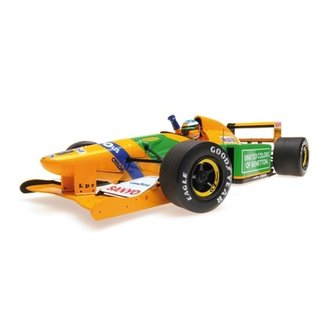 Minichamps 1:18 Schaalmodel Michael Schumacher - Winnaar Belgie 1992