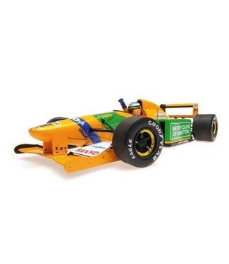 Minichamps Schaalmodel Michael Schumacher - Winnaar Belgie 1992