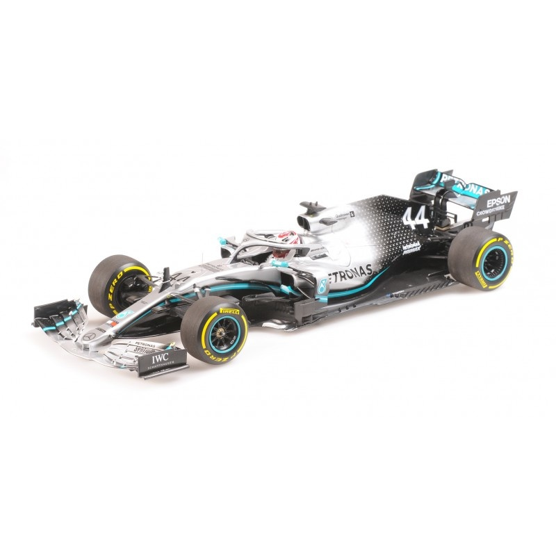 Minichamps Mercedes AMG   Lewis Hamilton 1:18 schaalmodel 2019