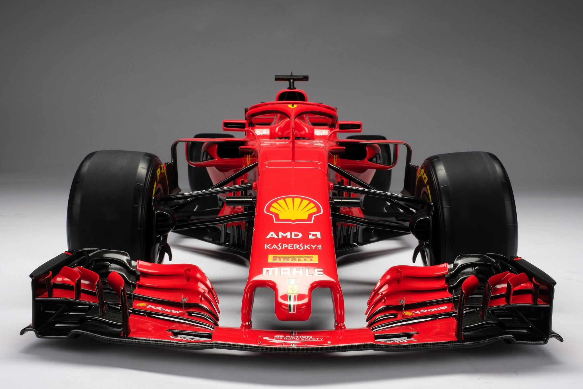 Amalgam Ferrari SF71H (2018) 1:4