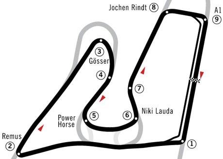 Mercedes heer en meester bij GP van Stiermarken (Oostenrijk)