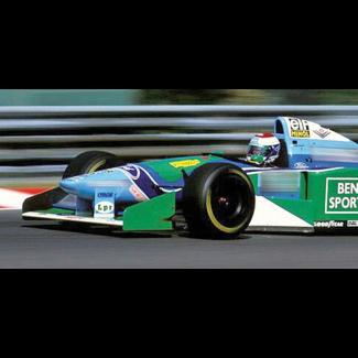 Minichamps 1:18 Schaalmodel Jos Verstappen GP Hongarije 1994