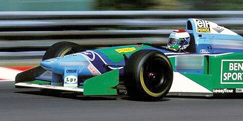 Minichamps Schaalmodel Jos Verstappen 1:18 3e plaats GP Hongarije 1994