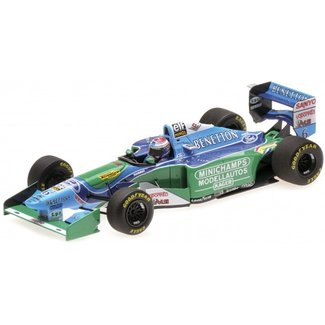Minichamps Schaalmodel Jos Verstappen GP Belgie 1994 1:43