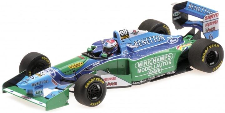 Minichamps 1:43 Schaalmodel Jos Verstappen GP Belgie 1994