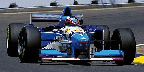 Minichamps Schaalmodel 1:12 Michael Schumacher - Worldchampion 1995 - Benneton Ford B195
