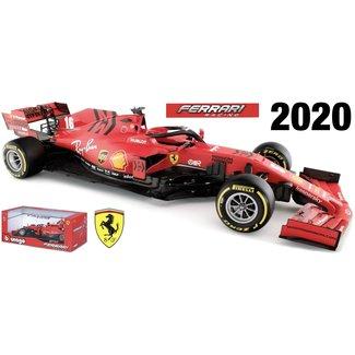 Bburago Ferrari Charles LeClerc 1:18 schaalmodel 2020