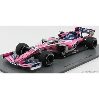 Spark 2019 Schaalmodel 1:18 Sergio Perez Racing Point