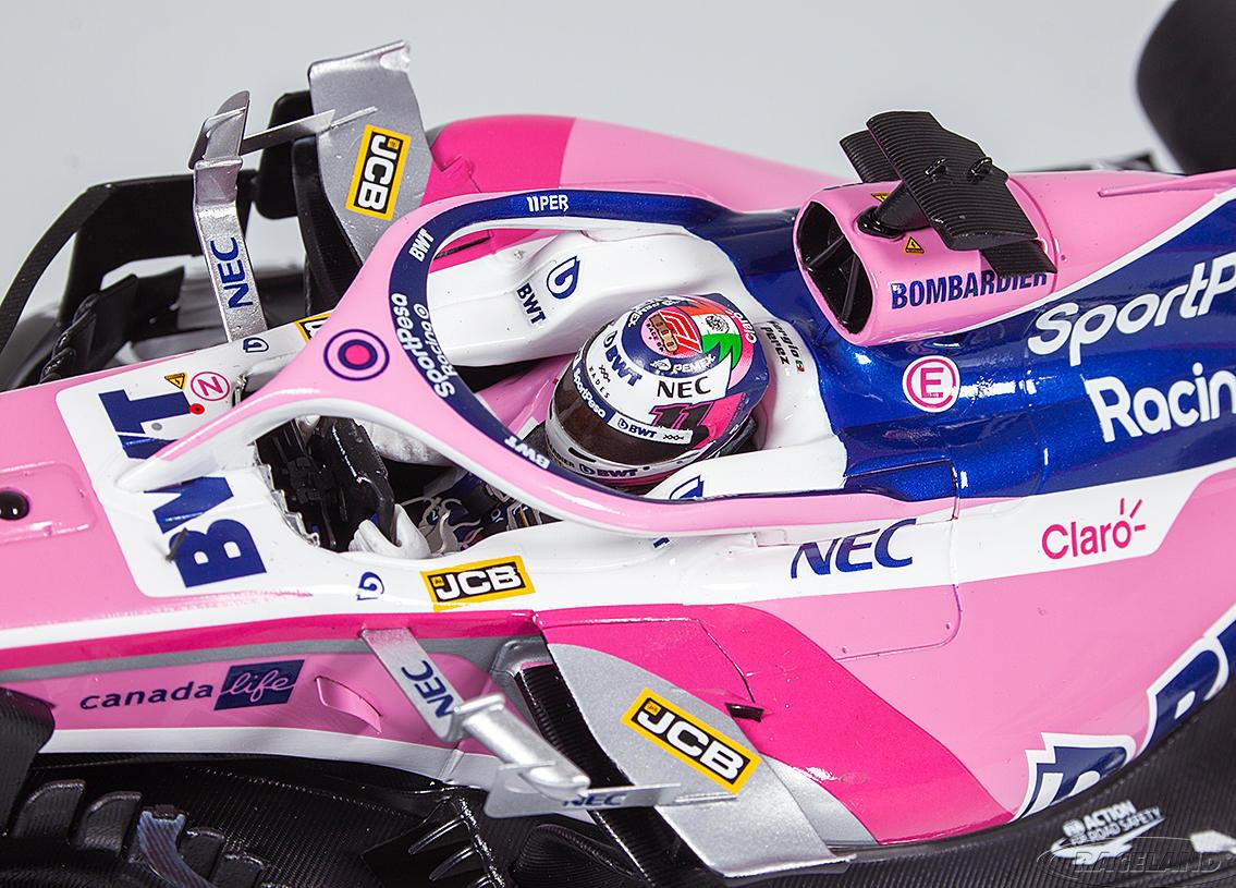Spark Schaalmodel  Sergio Perez 1:18 Racing Point