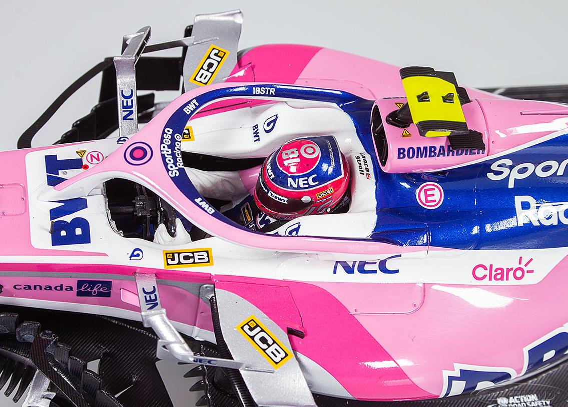 Spark Schaalmodel 1:18 Lance Stroll Racing Point