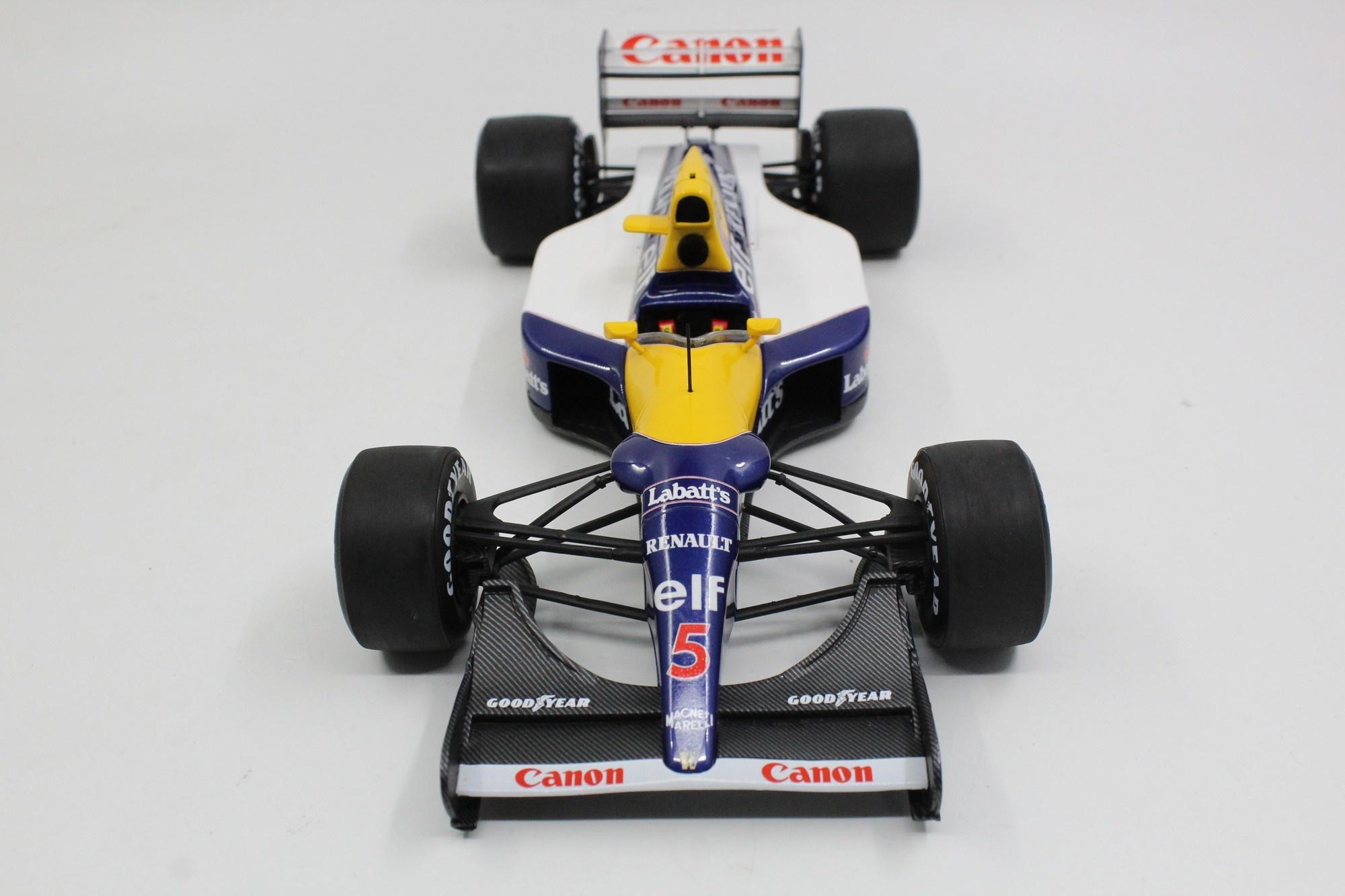 Top Marques  Williams schaalmodel 1:18 FW14B #5 World Champion Nigel Mansell 1992