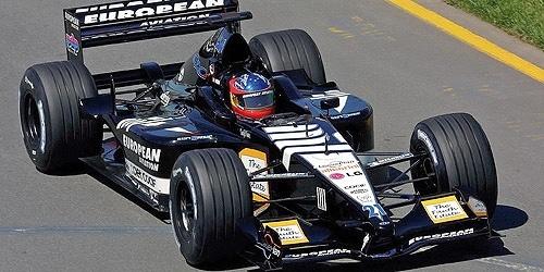 Minichamps Schaalmodel Fernando Alonso 1:18 2001 Minardi