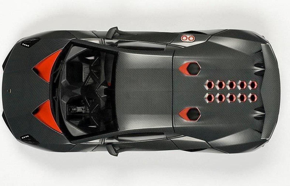 AUTOart Lamborghini Sesto Elemento 2011 - 1:18 - Grijs Carbon