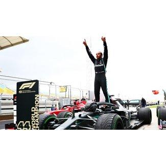Minichamps Schaalmodel 1:18 Lewis Hamilton  7e Wereldtitel