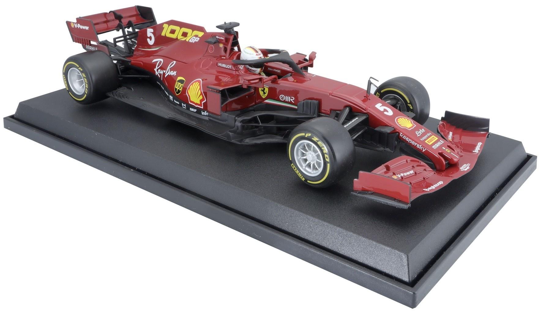 Bburago Ferrari Vettel 1:18 schaalmodel 2020 Toscane