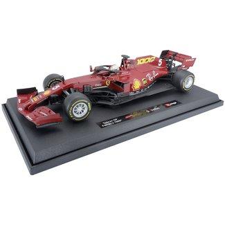 Bburago Ferrari Vettel 1:18 schaalmodel 2020 Monza