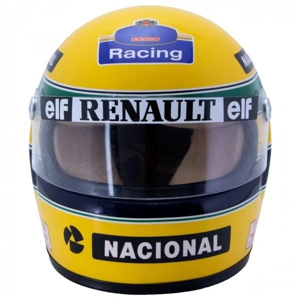 Minichamps Schaalmodel 1:2 Ayrton Senna helm 1988
