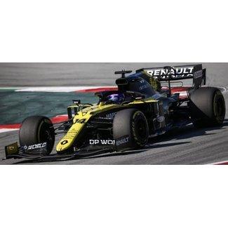 Minichamps Schaalmodel 1:43 Fernando Alonso Renault Barcelona Test