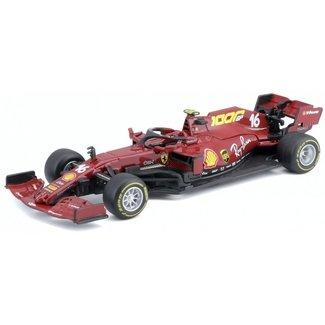 Bburago Ferrari LeClerc 1:43 schaalmodel 2020 Monza