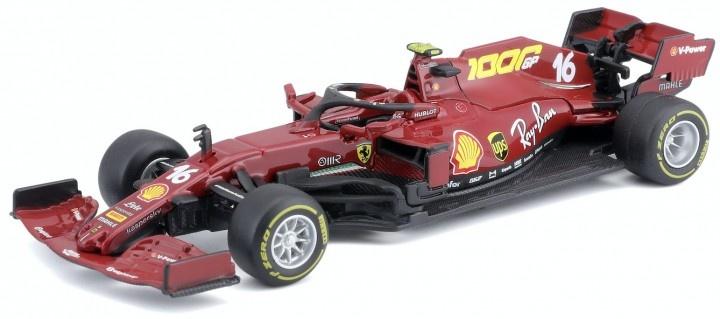 Bburago Ferrari LeClerc 1:43 schaalmodel 2020 Toscane