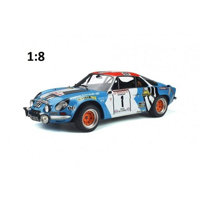 GT Spirit 1:8 Renault Alpine A110 #1 Tour de Corse 1973