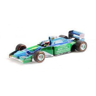 Minichamps Schaalmodel 1:18 Mick Schumacher B194 Benetton