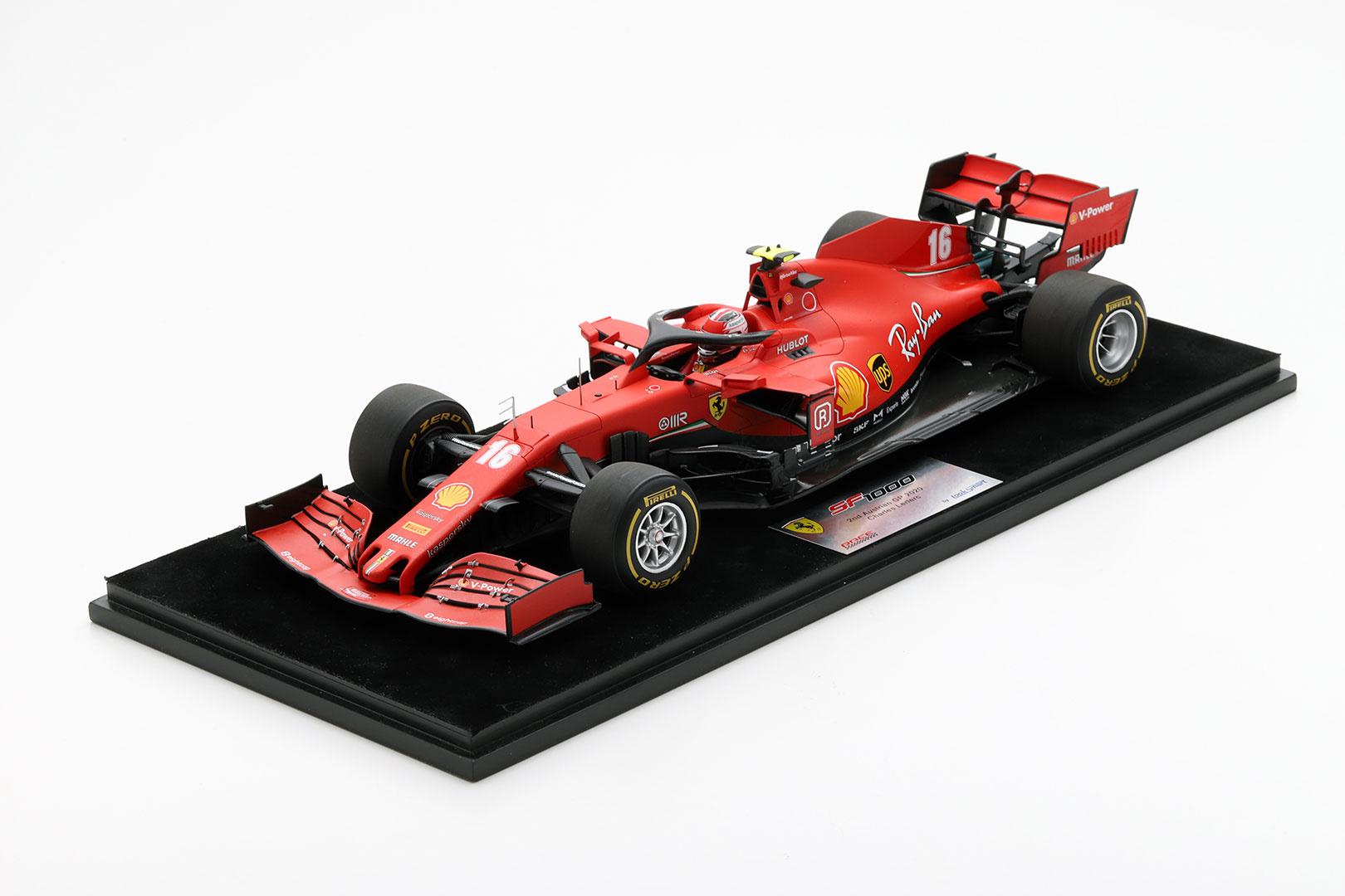 Looksmart Ferrari LeClerc 1:18 schaalmodel 2020 - GP Oostenrijk