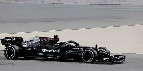 Minichamps Schaalmodel 1:43 Lewis Hamilton GP Bahrein 2021