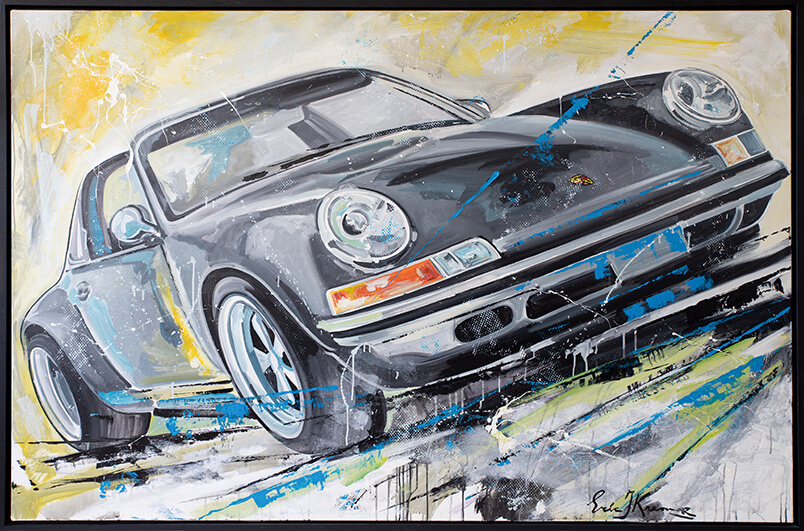 Porsche Porsche 911 schilderij   Eric Jan Kremer