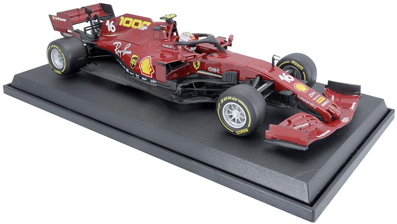 Bburago Ferrari LeClerc 1:18 schaalmodel 2020 Toscane