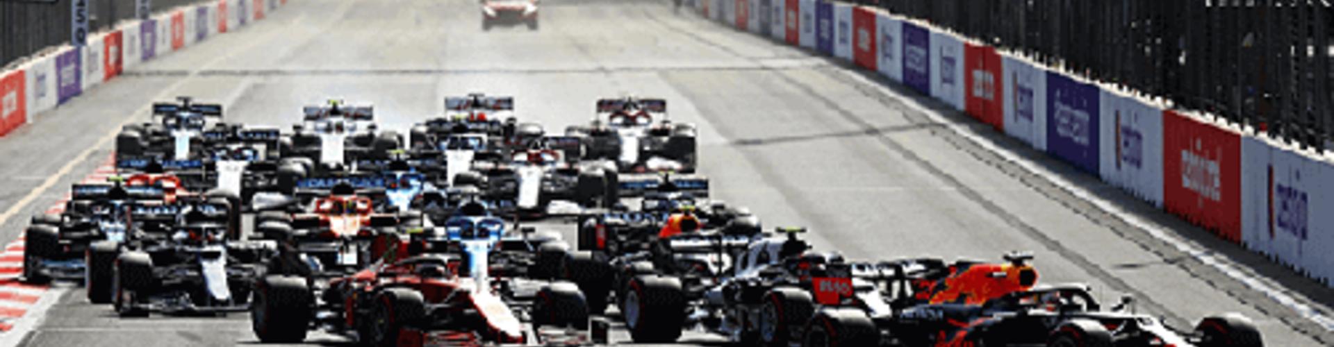 Sergio Pérez pakt eerste overwinning voor Red Bull Racing in Bakoe