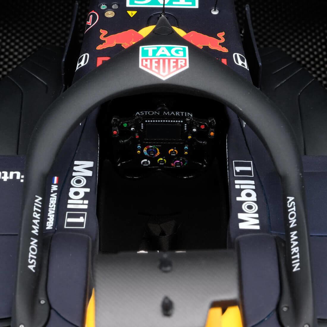 Amalgam Max Verstappen Red Bull schaalmodel 1:8 - 2019