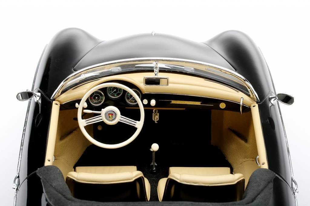 "True Scale Models Porsche 356 Speedster Intermeccanica ""Charlie"" Top Gun Movie 1986  schaal 1:12"