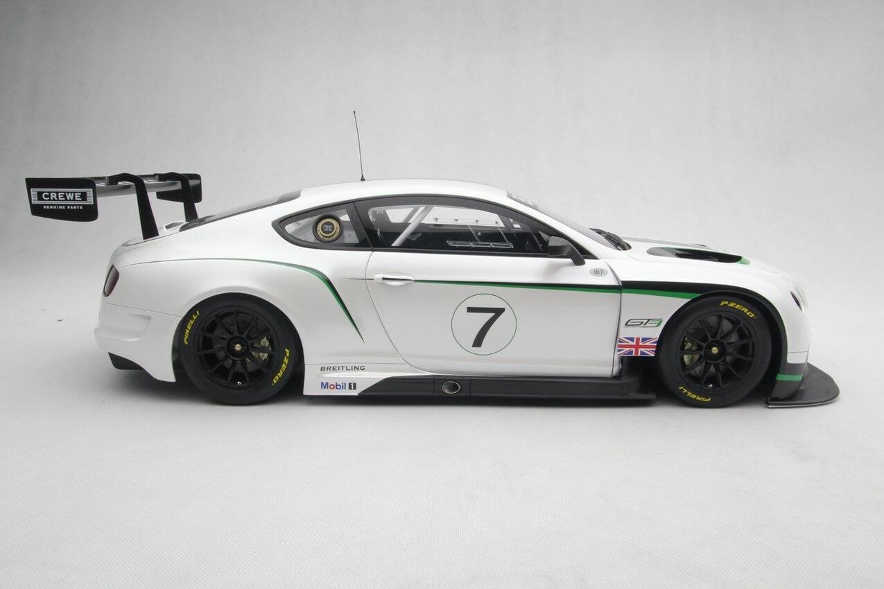 Amalgam Bentley Schaalmodel 1:8 Continental GT3