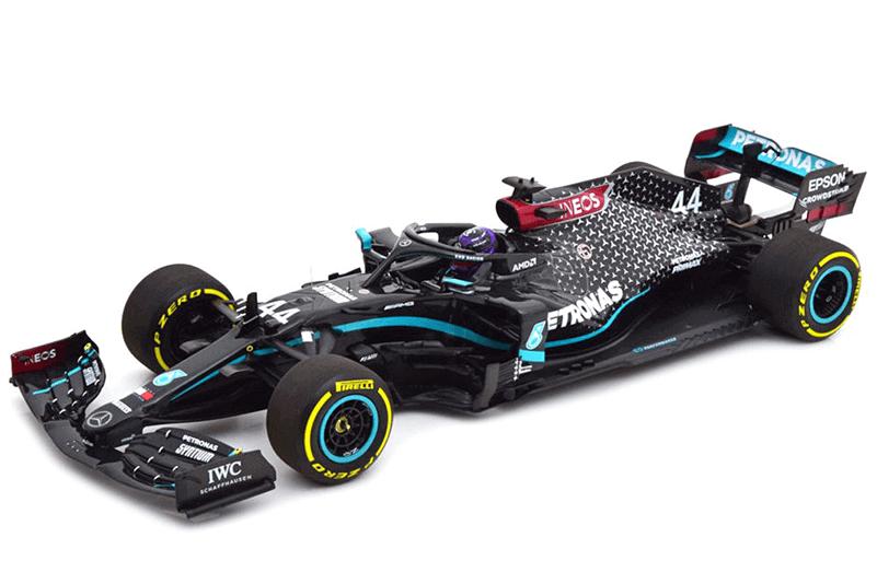 Minichamps Schaalmodel 1:18 Lewis Hamilton Winner GP Styrian 2020